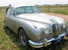 This 79k-mile 1965 Jaguar Mark 2 is being sold by its owner of 39 years. It is said to have no rust issues and was repainted 20 years ago in a non-original grey metallic that still shows a nice shine. The original 3.8L inline-six is said to idle and run well, and the Borg Warner automatic transmissi