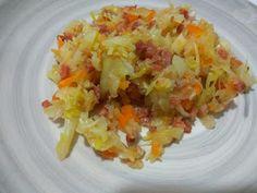 Pate de loca.Tu sitio de recetas sencillas y manualidades.: Verduras con jamón