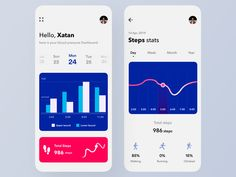 Beautiful design inspirations for Fitness Tracker App, Fitness Activity Tracker, Fitness App, App Ui Design, Mobile App Design, Mobile Ui, Love Fitness, Mens Fitness, Ui Design Inspiration