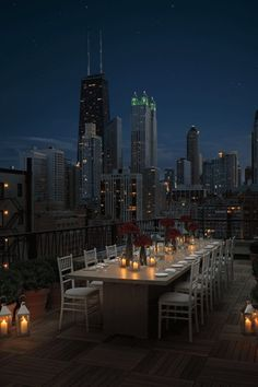 Or, if we keep on having this Indian Summer, dining alfresco is an option we never get sick of in the Windy City. Public, Chicago