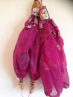 Indian puppet / Indian kathputli / home by TheFarEastArtStudio