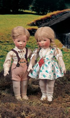 My Life as a Doll: 226 German Cloth Character Girl, Type IX, by Kathe Kruse