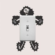 Electrocuted Guy Outlet Decal Sticker Funny by TrendyWallDesigns
