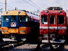 1481系と特急車12200系