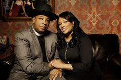 Happy 21st anniversary to these two, Rev Run and Justine Simmons!
