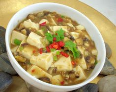 The Modern VEGETARIAN - Recipes: 'Ma Po' Tofu