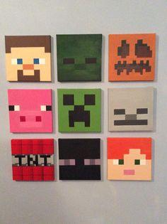 Ensemble de pièces de Minecraft 9 (8 « x 8 »)