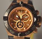 New Invicta Mens 16984 Subaqua Rose Gold Dial Chronograph Watch