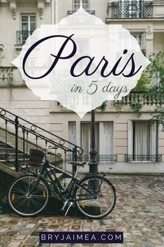 Paris travel guide things to do and see in Paris, France via @bryjaimea.com bryjaimea.com #paris #france #travelguide #travel #holidays #vacationideas