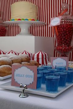 Circus Dessert Table by A Little Polkadot