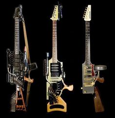 Warrior's guitars