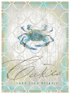 Crab Cakes Print