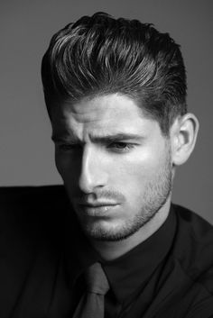 American Crew& New Collection: Images of Men& Hair - Inspiration - Modern Salon Work Hairstyles, 2015 Hairstyles, Undercut Hairstyles, Medium Hairstyles, Hairdos, Hairstyle Ideas, Wedding Hairstyles, American Crew, Modern Pompadour