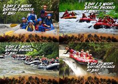 3D/2N Bali Adventure Package Aleson Tour & Travel (Rafting for 2 Person + Breakfast + 1 x Lunch) Only Rp 1.260.000