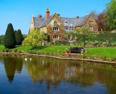 cotton manor house and gardens, UK  this is beautiful.