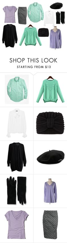 """my 2"" by pollidolgyshina on Polyvore featuring мода, Brooks Brothers, Plein Sud, Rosie Sugden, Object Collectors Item, Larose, Balenciaga, J.Jill, Hollister Co. и John Galliano"