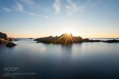 Rocks and Flares by MaurizioF. @go4fotos