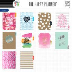 2016-2017 CLASSIC Happy Planner™ - Watercolor – me & my BIG ideas