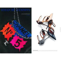 Malone Souliers' 'Veronica' have the pleasure of being featured in the @bergdorfs Accesorized Fall 2014 editorial alongside fashion industry heavy-hitters such as #Chanel, who are featured on the cover of this guide to the chicest and most desirable items of the season. Shop Malone Souliers on the second floor of the legendary New York department store. #MaloneSouliers #BergdorfGoodman #NewYork #Veronica #shoes #luxury#fashion #accessories #shop #AW14