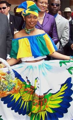 traditional clothing of bahamas - Google Search