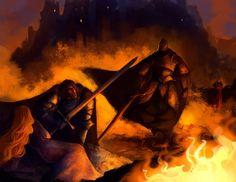Ser Robert Strong by Kallielef