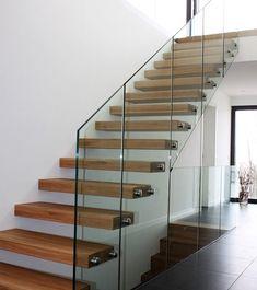 Steel Stairs Design, Glass, Interior, Google, Image, Home Decor, Stairway, Decoration Home, Drinkware