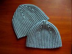 tychus hat.  free knitty pattern.  short rows.  love pinkerston's boy version.