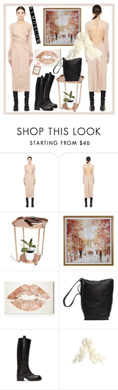 """SVMOSCOW 52. (LILIES)"" by carola-corana ❤ liked on Polyvore featuring Rick Owens Lilies, Oliver Gal Artist Co., Rick Owens, A.F. Vandevorst and Gucci"