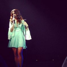 Lana on stage in Mexico. #LDR