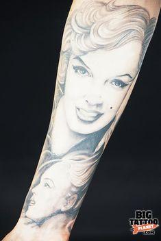 Madrid Tattoo Convention - 2005 - Black and Grey Tattoo | Big Tattoo Planet