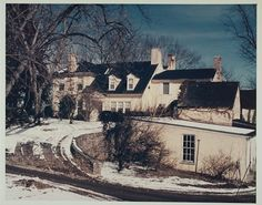 The Kennedy's leased estate, Glen Ora, in Middleburg, Virginia. They used the home for two years as a weekend getaway from Washington, D.C. beginning in February 1961. When the owner decided not to renew the lease, they purchased another home in Atoka. JFK only visited the new house twice before he was assassinated.