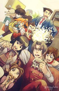 Spirit of Justice! Phoenix Wright, Ace Attorney, Looks Kawaii, Apollo Justice, Pokemon, Manga, All Anime, Fire Emblem, Best Games