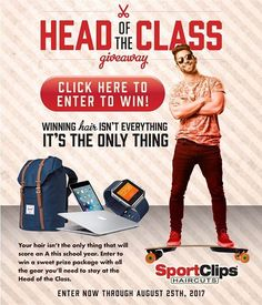Don't click the pic but go to this website to enter ➡️ https://www.sportclips.com/join-forms/national/head-of-the-class-2017?utm_source=iAPPS&utm_medium=email&utm_campaign=HotC&utm_content=Email1.  #SportClipsHairTeam #TeamSportClips #TeamSC #SC #HairforMen #HairstylesForBoys #HairForBoys #TeamCA405 #Haircut #SanDiegoCounty #SportClipsStylist #SanDiegoLivin #Haircare #barberShop #itsGoodToBeAguy #ladyBarber #LadyBarbers #instaHair #instaStylist #DelMarCA #delmar #CarmelValley #SolanaBeach…