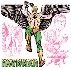 The Golden Age Hawkman by Murphy Anderson