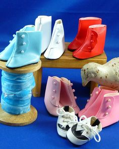 For Effner Little Darling SIX Pairs of Darling Shoes by nippykat