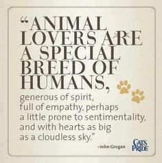 """""""Folks will know how large your soul is, by the way you treat a dog."""" -Charles…"""