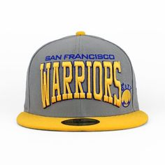 San Francisco Warriors Cool Grey & Team The Pro Arch 59fifty