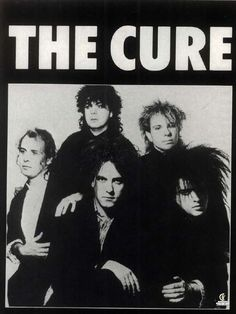 All Things Gothic Pop Rock, Rock And Roll, The Cure Band, Rock Band Posters, Punk Poster, Robert Smith The Cure, Goth Music, Vintage Music Posters, Indie