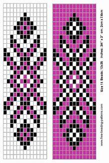 Native American Loom Beading Patterns Free Non Native Beading Patterns, Seed Bead Patterns, Beaded Jewelry Patterns, Weaving Patterns, Indian Patterns, Bead Jewelry, Embroidery Patterns, Peyote Beading Patterns, Color Patterns