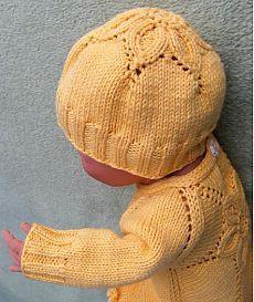Вязание для новорожденных и малышей одежды со схемами и описанием. - страница 3