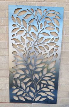 New Leaf pattern privacy screens