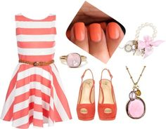 Pretty In Pink, created by hannahcaster on Polyvore by frankie