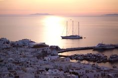 Oh the views in Mykonos...