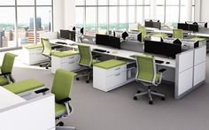steelcase cubes