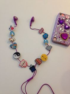 Steezys Cord Charms for Headphone, Earbud Wires - Generation X.