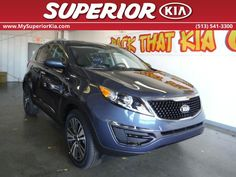 The 2016 Kia Sportage EX is ready for a wild ride!