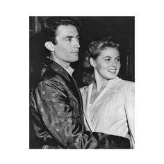 1945 Gregory Peck and Ingrid Bergman