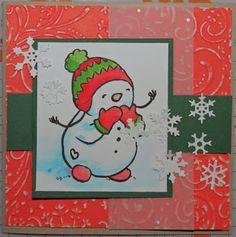 Kika's Designs : Snowman's Kisses