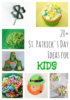 St Patrick's Day Ideas for Kids - Food & Crafts