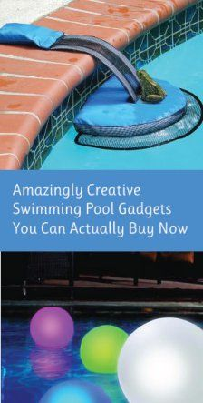 Awesome Swimming Pool Gadgets On Pinterest Swimming